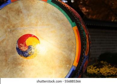 Korean traditional drum