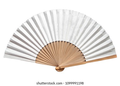 A korean traditional folding fan