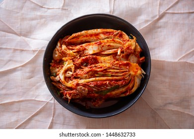 Korean Traditional Food Kimchi in the bowl