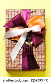 Korean traditional gift packaging.