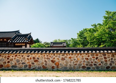 Korean traditional house at Wolmi Park Traditional Garden in Incheon, Korea - Shutterstock ID 1768221785