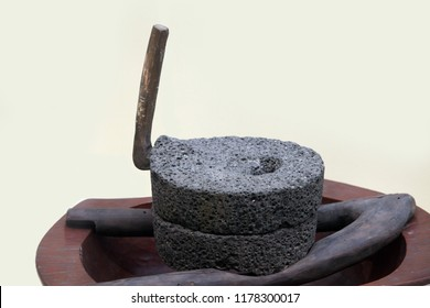 Korean traditional millstone