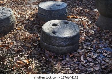 Korean traditional millstone