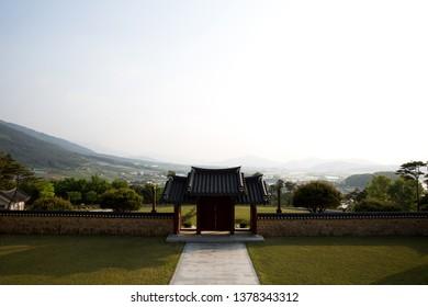 Korean Traditional Music Holy Ground in Namwon-si, South Korea.