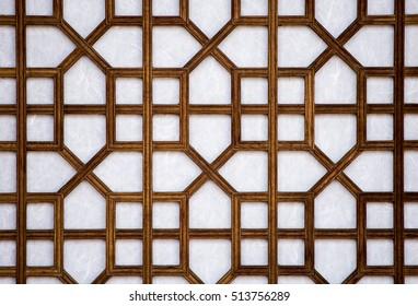 Korean traditional patterns.
