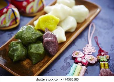 Korean traditional rice cake