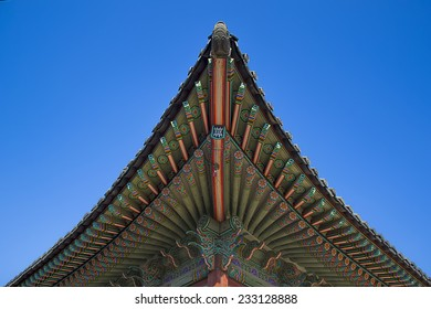 Korean traditional roof
