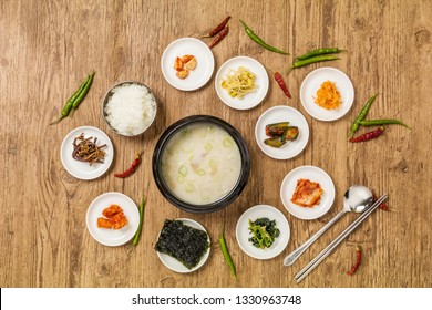 Korean white soup Seolleongtang