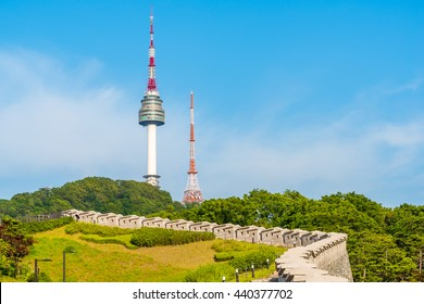 Korea,Namsan Tower in Seoul,South Korea.