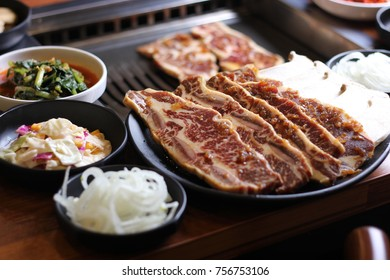 Korean-style Grilled Beef Ribs