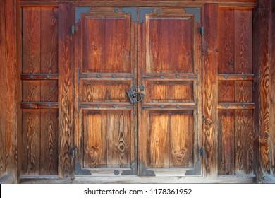 Korean-style house door