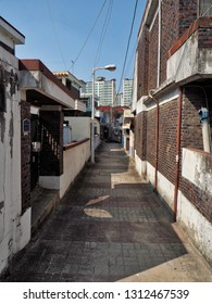 Korea's alleyway scenery