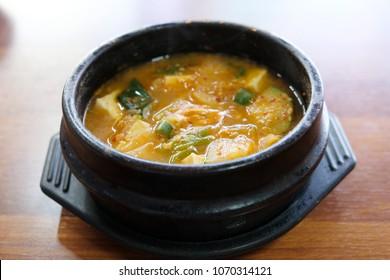 Korea's representative food,Soybean Paste Stew(doenjang jjigae) is a healthy food in Korea.