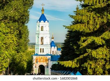 Korennaya Pustyn, a monastery in Svoboda, Kursk Oblast of Russia - Shutterstock ID 1682001868