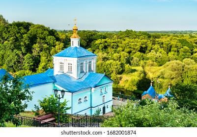 Korennaya Pustyn, a monastery in Svoboda, Kursk Oblast of Russia - Shutterstock ID 1682001874