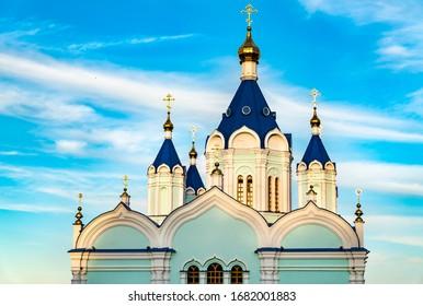 Korennaya Pustyn, a monastery in Svoboda, Kursk Oblast of Russia - Shutterstock ID 1682001883