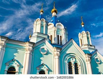 Korennaya Pustyn, a monastery in Svoboda, Kursk Oblast of Russia - Shutterstock ID 1682001886