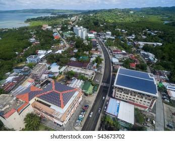KOROR, PALAU - DECEMBER 03, 2016: Koror Town in Palau Island.