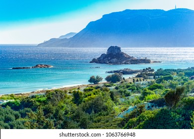 Kos island, Greece, coast view of Kefalos village