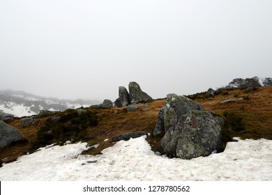 Kosciuszko National Park  Winter Australia.