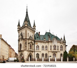 KOSICE. SLOVAKIA. 24 OCTOBER 2012 : Jakab's palace in Kosice. Slovakia