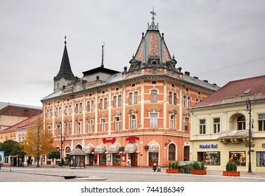 KOSICE. SLOVAKIA. 24 OCTOBER 2012 : Neo-Renaissance Andrassy Palace in Kosice. Slovakia