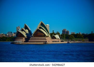 KOSIT: SYDNEY, AUSTRALIA JULY 8, 2016: Photo of the great view of Sydney opera house