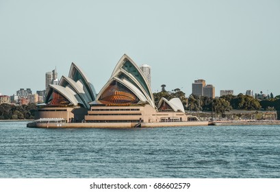 KOSIT: SYDNEY, AUSTRALIA JULY 8, 2016: Photo of the great view of Sydney opera house