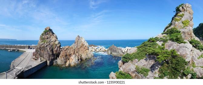 Kosode Coast in Kuji-city, Iwate, Japan