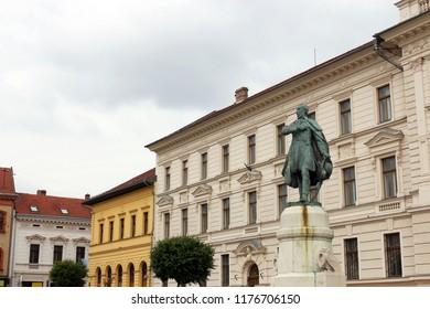 The Kossuth monument Pecs Hungary