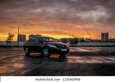 KOSTANAY summer 2018: The photo Toyota Corolla