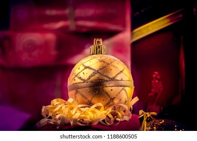 Kostinbrod-Sofia Oblast/Bulgaria  - September 21, 2015 Christmas time is a very acceptable time of the year to reward my self with one drink at home during the process of Christmas home decoration.