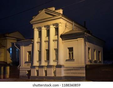 KOSTROMA. RUSSIA. 27 OCTOBER 2017 : House of Aqatov in Kostroma. Russian