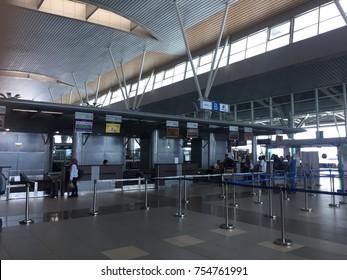 Kota Kinabalu, Malaysia - Nov 7, 2017:  Inside Kota Kinabalu International Airport,Sabah.Malaysia.
