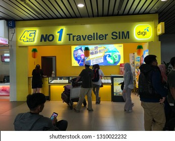 Kota Kinabalu, Sabah, 11 Feb 2019 : Digi Travel Sim., DBA digi, is a mobile service provider in Malaysia. It is owned in majority by Telenor ASA of Norway with 49%.