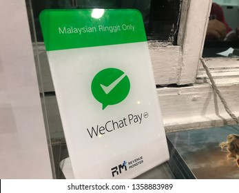 Kota kinabalu sabah 12 3 2019 . Wechat pay as alternative wallet that has been widely using in china now can be use in 3rd country like malaysia
