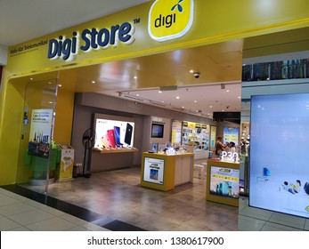 Kota Kinabalu, Sabah, 25 April 2019 : Digi Travel Sim., DBA digi, is a mobile service provider in Malaysia. It is owned in majority by Telenor ASA of Norway with 49%.