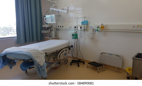 Kota Kinabalu Sabah, Malaysia - February 22, 2017 : Interior view of Jesselton Medical Centre. A one stop excellence for quality medical care in Sabah