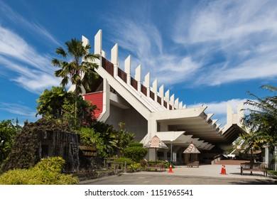 Kota Kinabalu, Sabah, Malaysia - January 5 2014: The Sabah State Museum