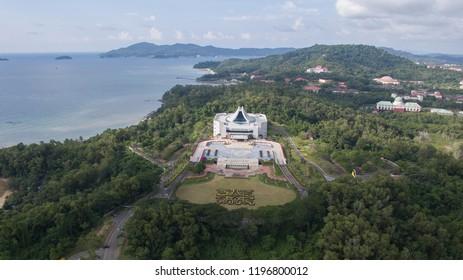 KOTA KINABALU, SABAH, MALAYSIA : Sept 6 ,2017 : The Sabah State Legislative Assembly building is a part of the Legislature of Sabah, Malaysia, the other being the Governor of Sabah.
