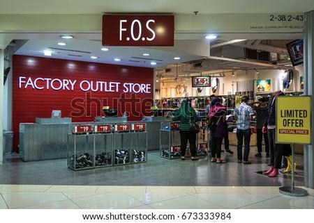 e7e61e5ae0313c Kota Kinabalu Sabah June 172017 View Factory Outlet Store Stock ...