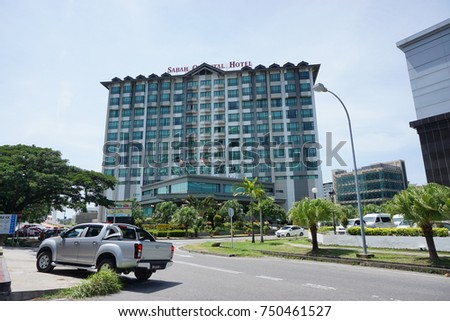 Kota Kinabalusabahmalaysia November 72017 The Image Sabah Oriental