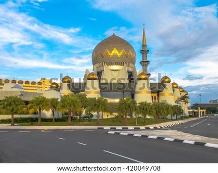 Kota Kinabalu Sabah Malaysia October 25 2015 Masjid Negeri Sabah