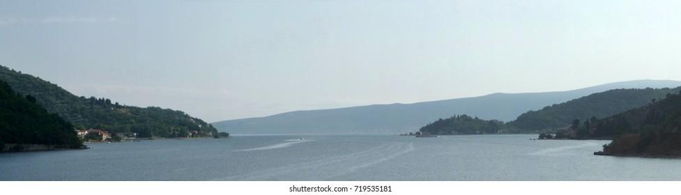 Kotor bay, Boka kotorska, Montenegro