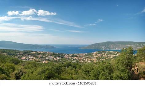 Kotor Bay from Herceg Novi, Montenegro