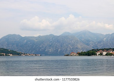 Kotor bay Montenegro landscape sea and mountains
