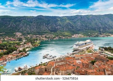 Kotor in a beautiful summer day, Montenegro