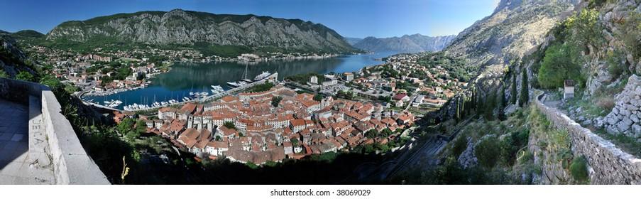 Kotor Montenegro Panorama
