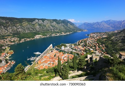 Kotor Old Town and Bay, Montenegro, Euurope