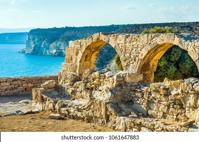 Kourion archaeological site, ruins of ancient town, Cyprus, Limassol district